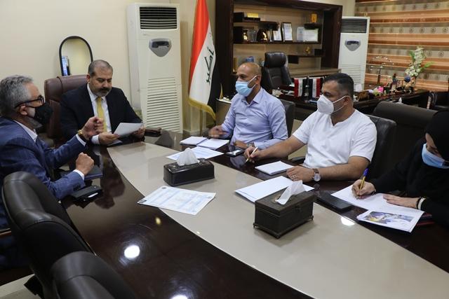 انطلاق برنامج تسجيل المصانع والشركات الموردة الى جمهورية العراق
