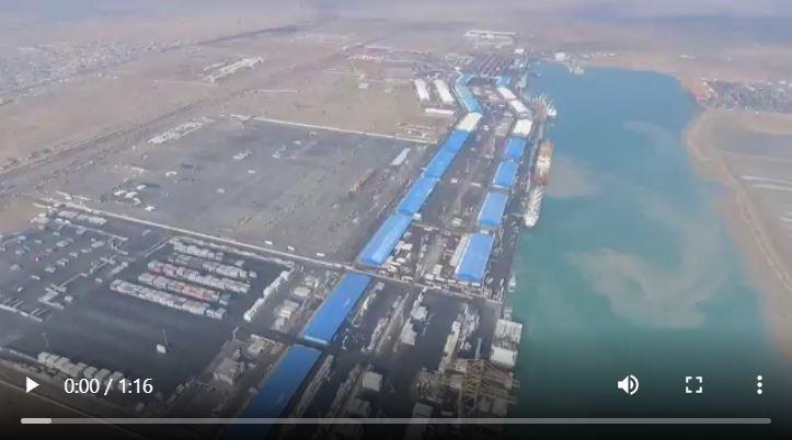 وزير النقل يشرف على مشروع البوابة الكبرى والطرق المؤدية لمينائي ام قصر الشمالي والجنوبي