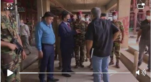 وزير الدفاع يتفقد مستشفى القوات المسلحة ويطلع على حجم المنجز من مشروع إكماله