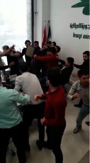 ماذا يحدث في مكتب مشهد للخطوط الجوية العراقية ……؟!