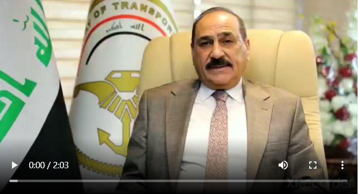 #وزير النقلالكابتن_ناصر _حسين _الشبلي يعلن استئناف رحلات الخطوط الجوية العراقية الى تركيا والهند  ———————— اعلام وزارة النقل  24/ايلول /2020