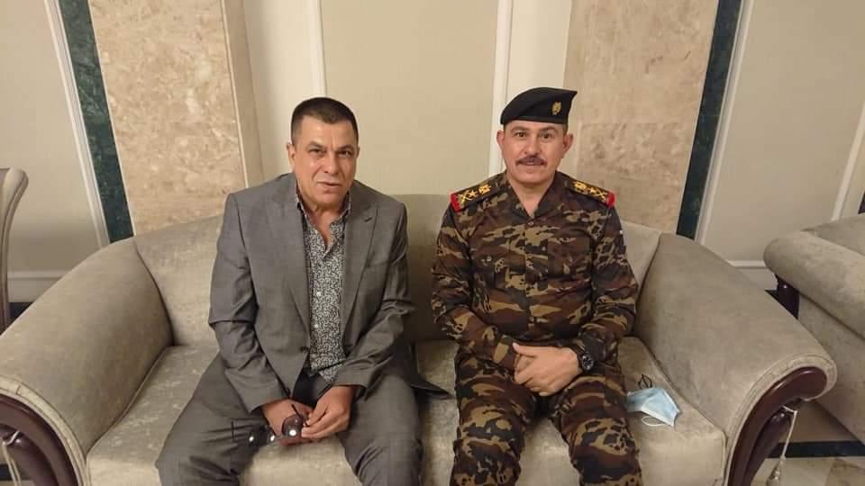 الفريق الركن محمد حميد كاظم البياتي السكرتير الشخصي للقائد العام للقوات المسلحة