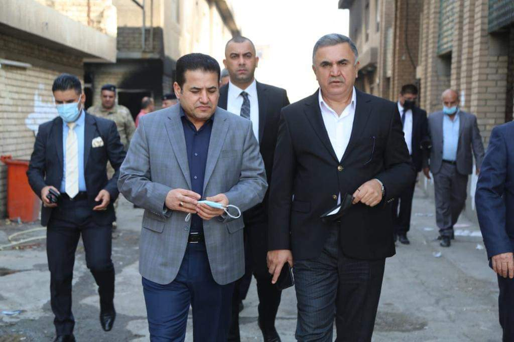 مستشار الأمن القومي السيد قاسم الأعرجي يلتقي القيادي في الحزب الديمقراطي الكردستاني شوان محمد طه