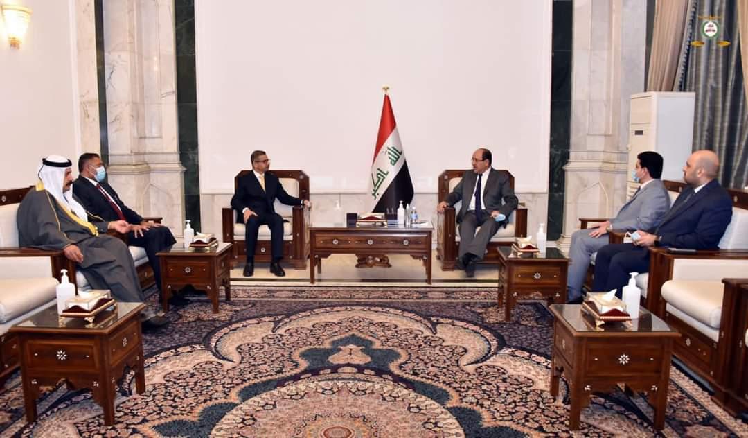 زعيم ائتلاف دولة القانون السيد نوري المالكي يستقبل رئيس حزب التجمع المدني للإصلاح