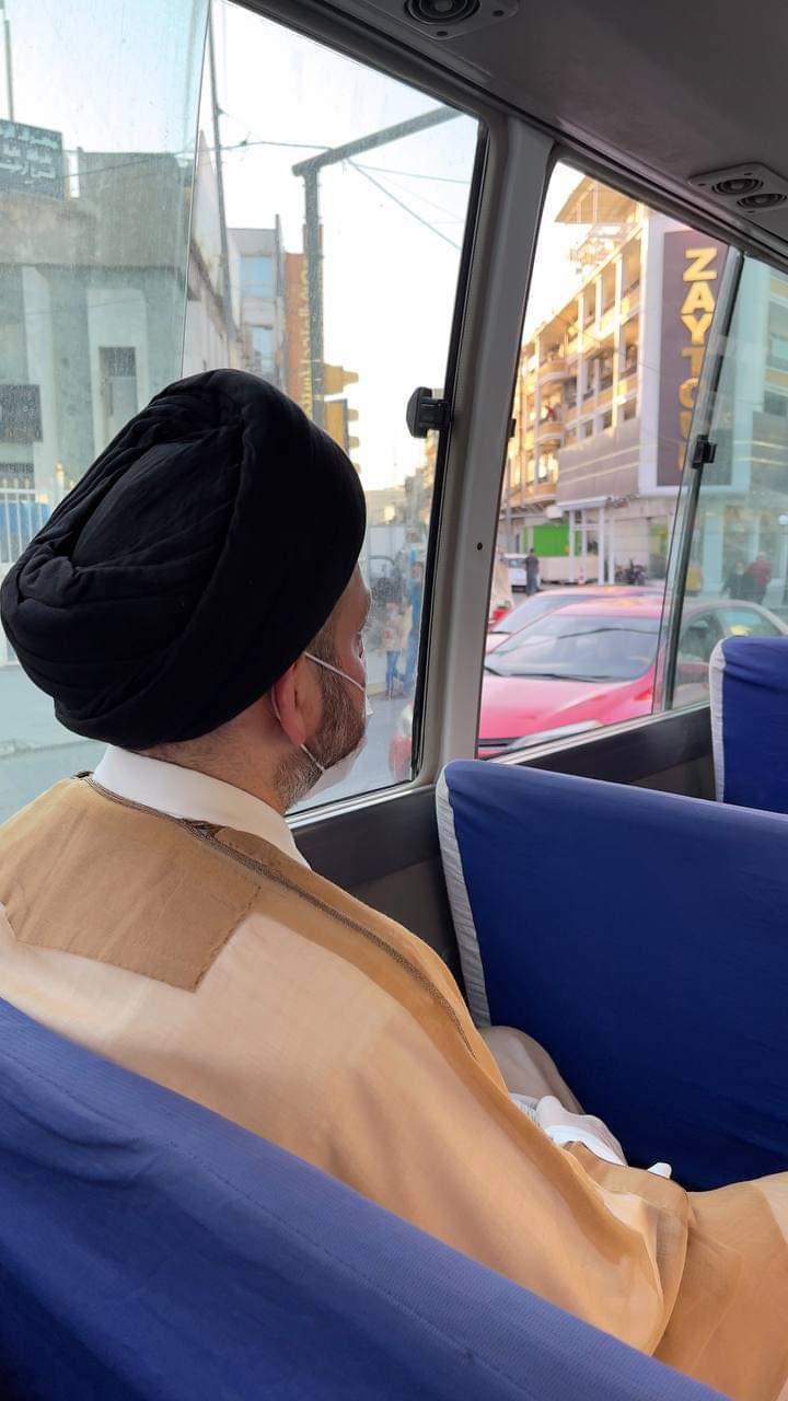 السيد الحكيم بين ابناء الشعب في منطقة الكرادة وسط بغداد  سماحة السيد الحكيم يؤكد :  سعدنا كثيرا ونحن بين أهلنا في منطقة الكرادة ببغداد