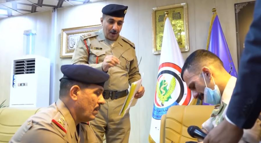 مؤلم جداُ | ( أبن الجيش العراقي مايبجي )