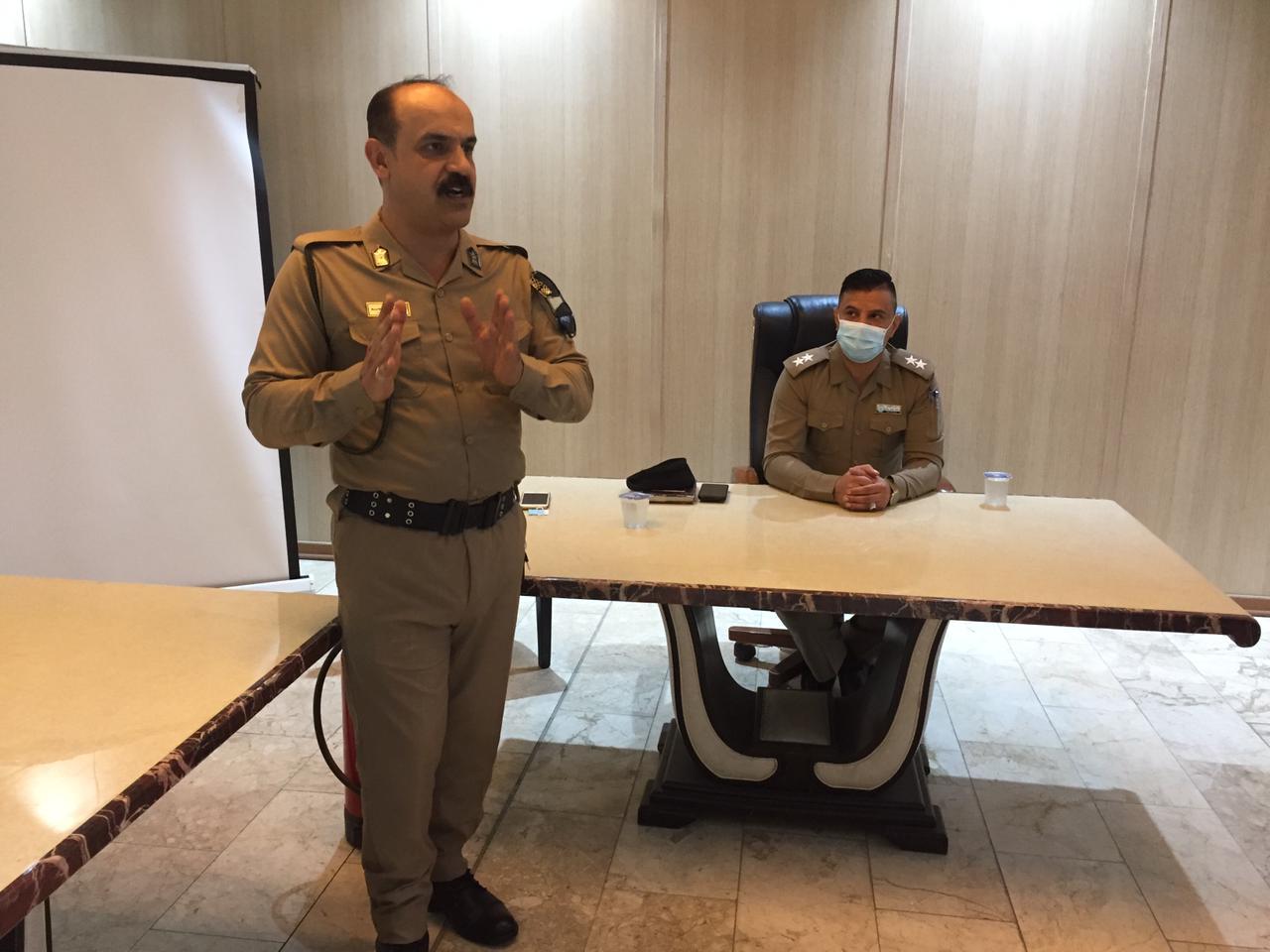 التجارة… شركة المعارض العراقية تنظم ندوة تثقيفة حول الدفاع المدني واجراءات السلامة العامة في المؤسسات الحكومية
