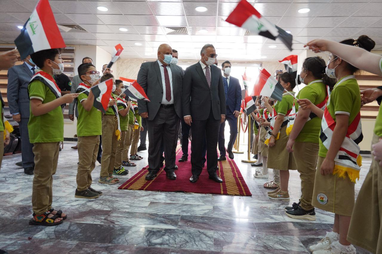 أهم ما تحدث به رئيس مجلس الوزراء السيد مصطفى الكاظمي بعد وصوله لمبنى محافظة صلاح الدين  واجتماعه بالدوائر الخدمية في المحافظة: