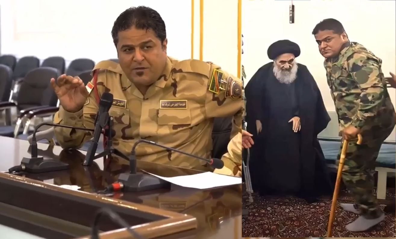 #تفاصيل لأول مرة   🇮🇶 اسمع ماذا قال السيد #السيستاني عن القوات الأمنية العراقية وماذا اعطى احد جرحى معارك التحرير