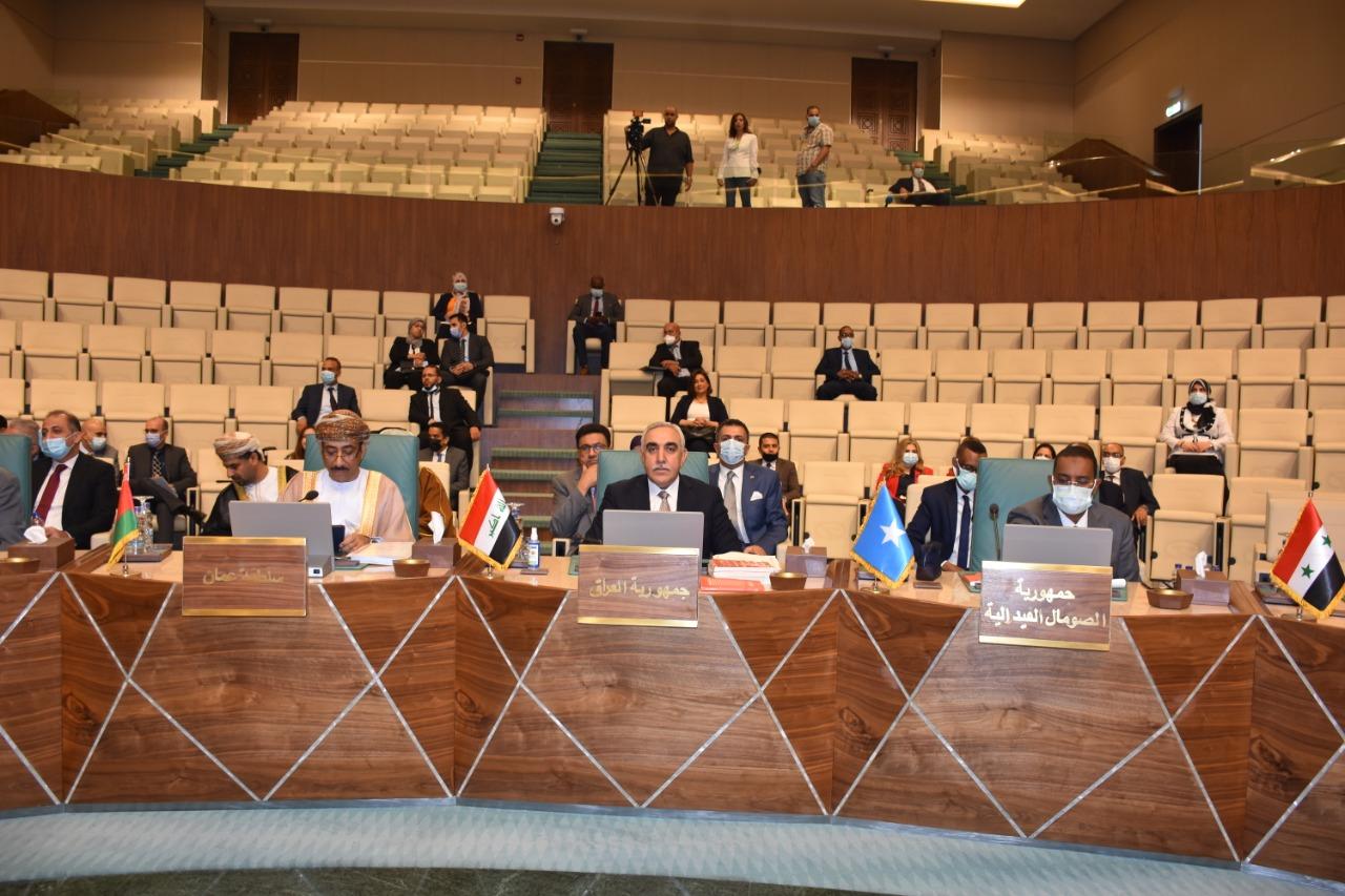 العراق يشارك في اجتماع افتتاح الدورة 156 لمجلس جامعة الدول العربية على المستوى الوزاري.